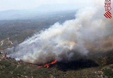incendio-llutxent-bomberos-valencia