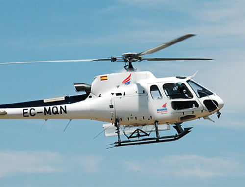 Los helicópteros AS350 B3 y A119 KOALA en la extinción de incendios