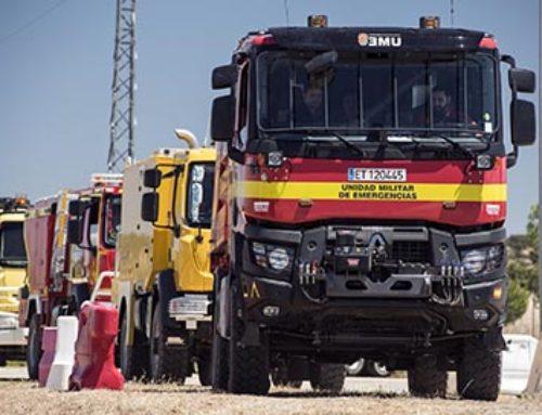 I campeonato de conductores de camiones de bomberos forestales