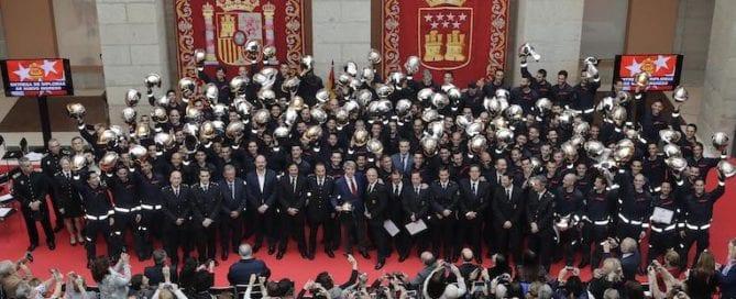 nuevos bomberos, comunidad de Madrid