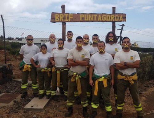 Acto de conciliación entre Tragsa y el bombero forestal de BRIF Tabuyo