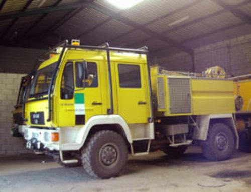 La Junta de Extremadura convoca prueba para conductor bombero forestal