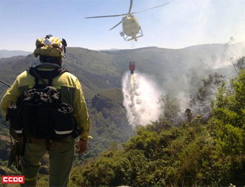 CC. OO. pide un operativo contra incendios más homogéneo y cohesionado