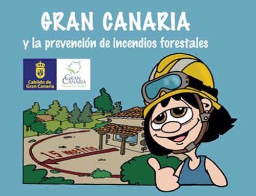 Un cómic para prevenir los incendios forestales en Gran Canaria