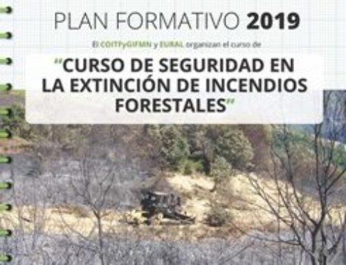 Curso seguridad extinción incendios forestales