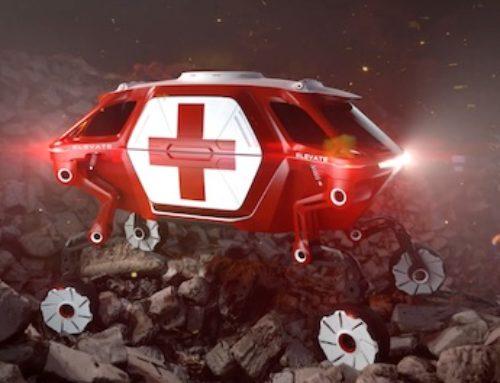 Un vehículo para salvamento