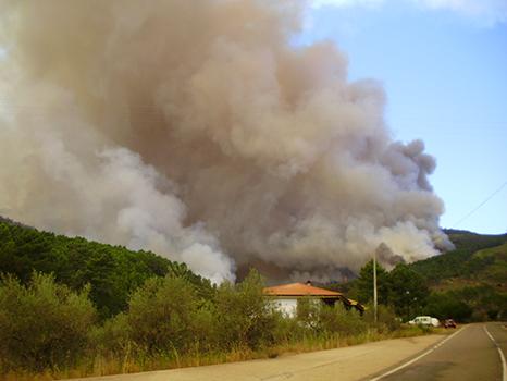 CO2, emisiones, incendios