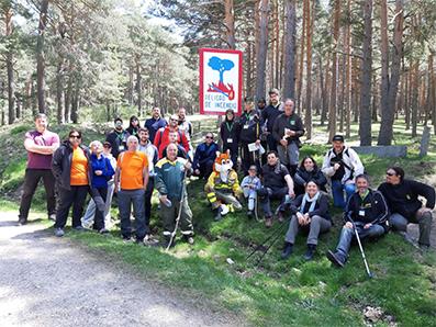 encuentro-bomberos-forestales-marcha