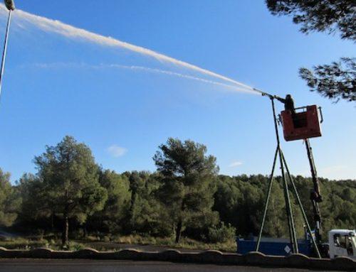 Proyecto Guardian: agua reciclada para prevenir incendios