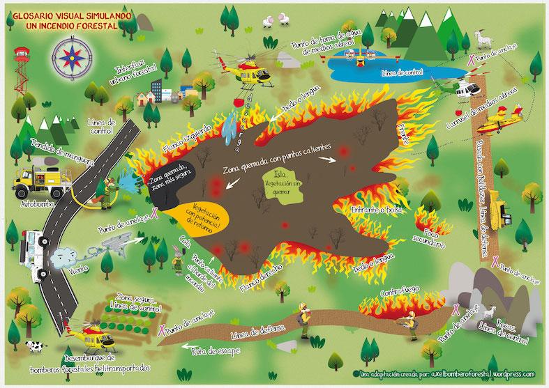 incendio-forestal-ficha-didactica-Axel-osbo