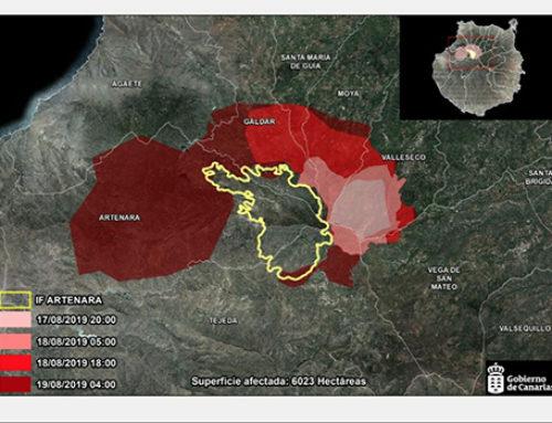 Salvar a las personas es la prioridad en el incendio de Canarias