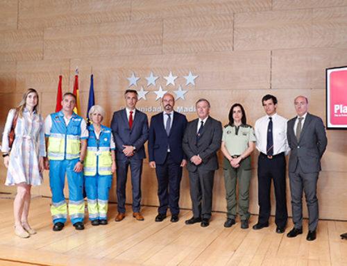 4.951 profesionales pendientes de los incendios forestales en Madrid