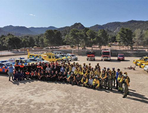 516 personas a diario velarán en Murcia por la extinción de incendios
