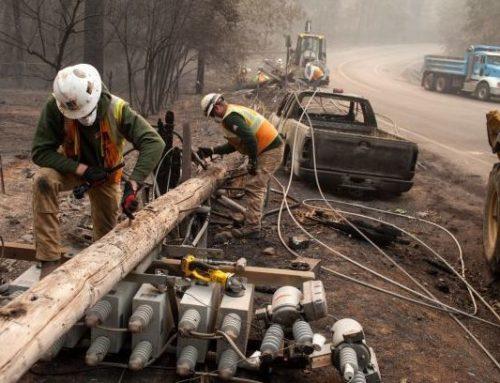 Los incendios forestales causan la bancarrota de PG&E