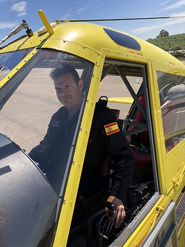 Samuel Piñón, diario de un piloto