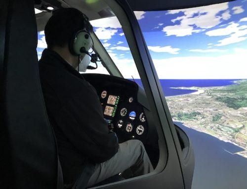 Un simulador para ganar experiencia como piloto de helicóptero