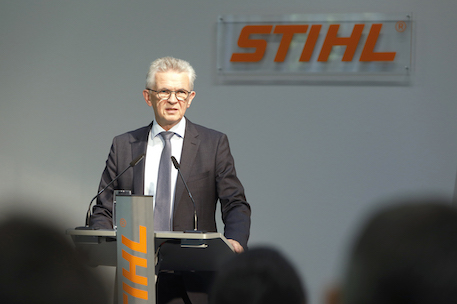 Bertram Kandziora, Stihl