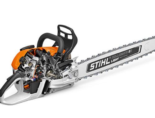 Sistema de inyección electrónica en la motosierra Stihl MS 500i