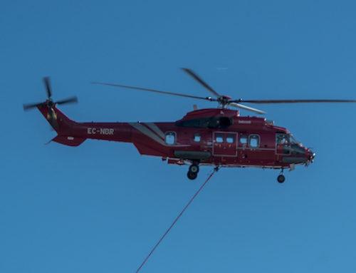 El Super Puma: una nueva categoría de helicópteros contra incendios